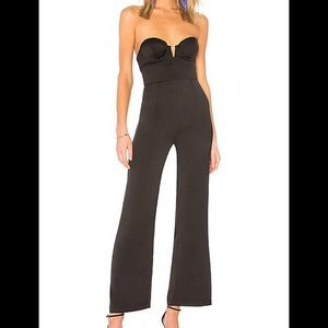 Bad Woman Jumpsuit in Black